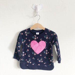 18-24M babyGAP Heart Sweatshirt